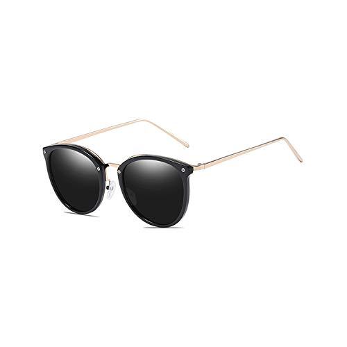 Sport-Sonnenbrillen, Vintage Sonnenbrillen, Trendy Vintage Goggles Brand Designer Cat Eye Sunglasses For WoMänner Männer UV400 Polarized Outdoor Driving Sun Glasses With Zip Case Grey Lens
