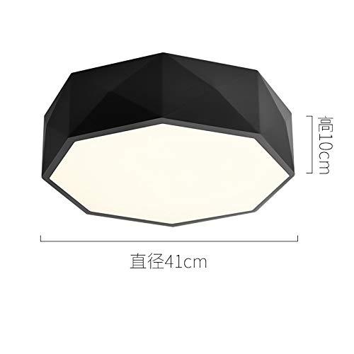 Art kreative Persönlichkeit Restaurant Studie Lampendurchmesser 41cm schwarz monochrom warmes Licht