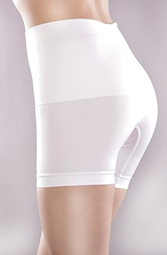 Libella Damen Miederpants mit Bauch-weg-Effekt Formt sofort und Strafft effektiv MDU3605 Weiß