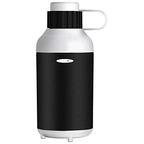 PANQQ Auto elektrische Luftreiniger Luftbefeuchter Aromatherapie Maschine Nebel Auto USB Silber