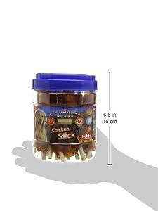 Nobby Friandise pour Chien Seau Poulet Filet Stick Enrobé 400 g