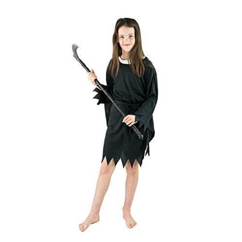 Bodysocks Boys Grim Reaper Fancy Dress Costume (7-9 - Grim Reaper Kostüm Frauen