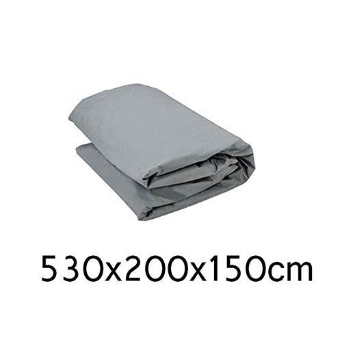 HIZH Full Cover Anteriore dell'automobile Wndow Copertura/Schermo di Sun della Copertura della Protezione di Protezione Esterna Polvere del Vento Neve Pioggia Auto Accessori Styling, 530X200X150Cm
