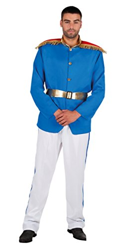 Boland B.V. Elite Principe Azzurro Uomo Fancy Dress Royal Fairytale Book Week Costume da Adulti