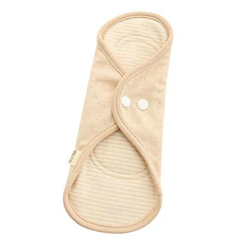 Waschbare Stoffbinden Slipeinlage Damenbinden Menstruation Pad, 100% Bio-Baumwolle, Besonders Dünn, Wiederverwendbar - 02 -