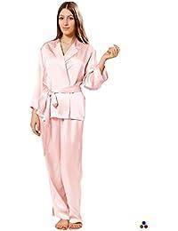6fa655b9da9a8 Suchergebnis auf Amazon.de für  seidenpyjama damen - Pink  Bekleidung