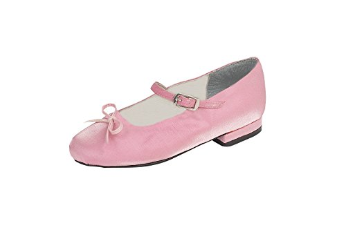 Children's Ballerina Shoes with Bow Pink