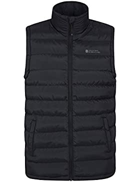 Mountain Warehouse Seasons Gilet rellenado estaciones - chaleco hidrófugo de Gilet, chaqueta caliente, ligera...