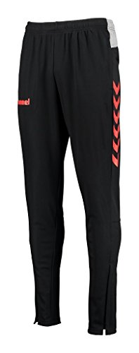 Hummel Pantaloni uomo KINETIC FOOTBALL, Black/Grenadine, XXL, 32-167-1088