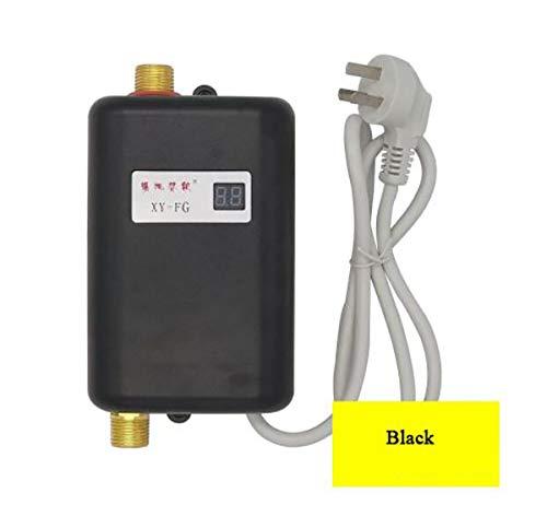 WG Sofortiger elektrischer Warmwasserbereiter Warmwasserküche Schnellheizung Thermostat Haushalt Calentador de agua 220V,C