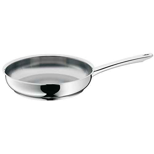 WMF frying pan uncoated Ø 24cm Profi Made in Germany pouring rim stainless steel handle Cromargan stainless steel suitable for induction dishwasher-safe