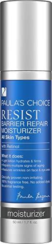 Paula's Choice Resist Anti Aging Barrier Repair Moisturizer | Anti Falten Feuchtigkeitscreme, gegen Pigmentflecken und Poren Verkleinern mit Retinol | Normale bis Trockene Haut 50 ml