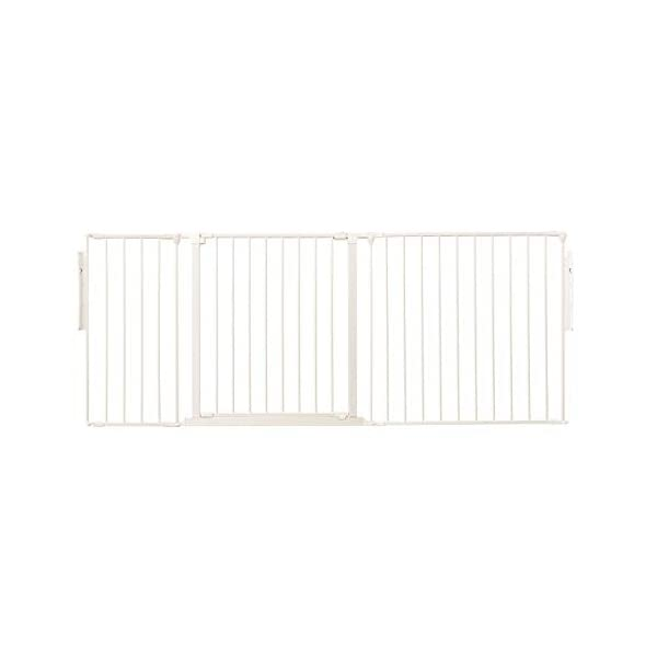 Safetots Room Divider White Up to 177cm Safetots Screw fitted room divider Can also be configured into a playpen or hearth gate Additional Gate Opening Panels available 1