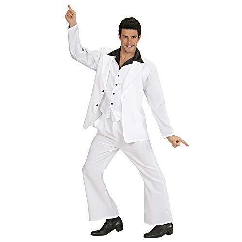 WIDMANN Widman - Disfraz de bailarín disco para hombre, talla M