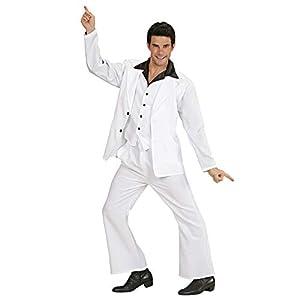WIDMANN Desconocido Disfraz de bailarín de música disco para hombre