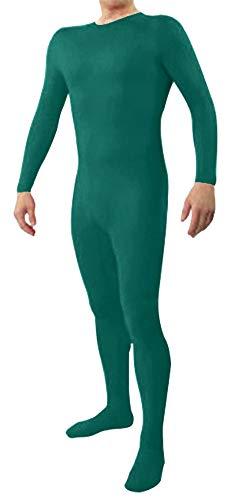 Icegrey Zentai Lycra Spandex Kostüm Bodysuits Ganzkörperanzug Türkis - Tier Bodysuit Kostüm