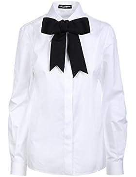 Dolce E Gabbana Camicia Donna F5I04TFU5GKW0800 Cotone Bianco
