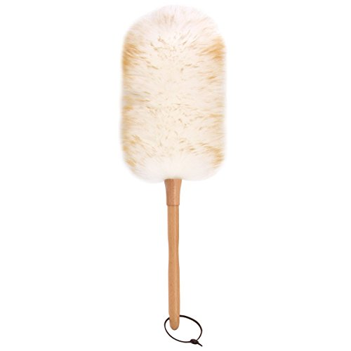 MR. SIGA Lambswool Duster - Dia 8-12cm, 49cm Long by MR. SIGA