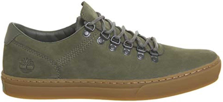 sneaker timberland high in pelle testa di moro