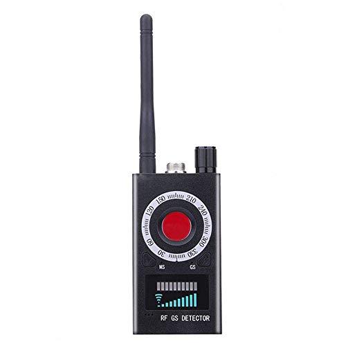 GONGFF Multifunktionaler Anti-Spion-Funksignal-Funkdetektor mit voller Reichweite Versteckte Kamera Auto-Detection Tracer Finder Einstellbare Empfindlichkeit -