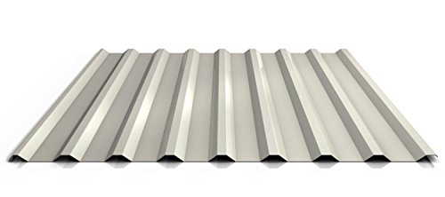 Trapezblech | Profilblech | Dachblech | Profil PS20/1100TR | Material Stahl | Stärke 0,63 mm | Beschichtung 25 µm | Farbe Reinweiß
