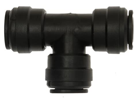 W4 Equal Tee Connector - Black