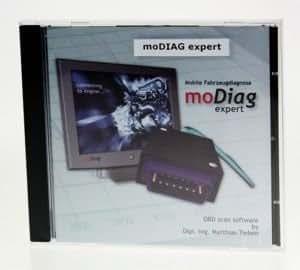 Diagnostic moDiag expert professionnel oBD2 avec logiciel pour aGV4000, diamex scandevil-dX35