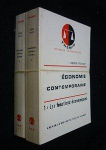 Economie contemporaine (tomes 1 et 2)