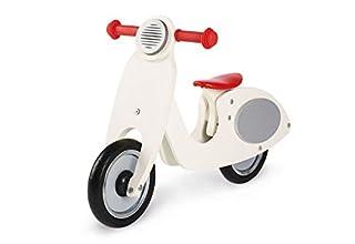 Pinolino Laufrad Vespa Wanda, Laufrad Holz, unplattbare Bereifung, Sattel 3-fach höhenverstellbar, für Kinder von 3 - 5 Jahren, cremeweiß (B00B5RDPEA)   Amazon Products