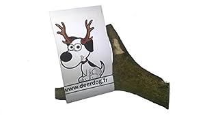 """1 morceau de bois de cerf à mâcher,pour les dents de votre grand chien """"XL"""""""