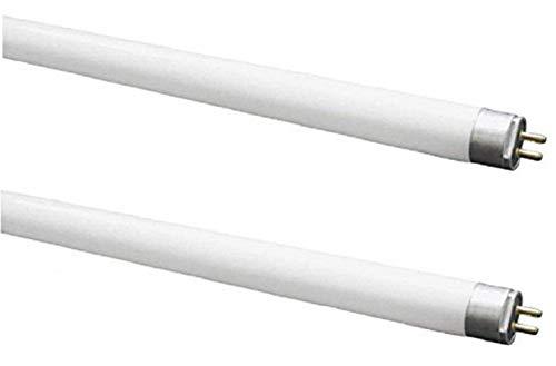 Kosnic - Lampada fluorescente a tubo lunga 288mm mod. T5conlampadine CFL Exun da 8W,confezione da 2pezzi, raccordiG5,lampade T5ad alta efficienza, emettono un fascio di luce bianco puro da 4000K, per una durata pari a 20.000ore, 450Lumen, lampadina fluorescente compatta, non dimmerabile, da 230V, classe energetica A, SKU: KFT08T5/840x2