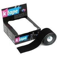 K TAPE 5cm X 5m Rolle Tape SCHWARZ - 1 Roll preisvergleich bei billige-tabletten.eu