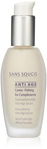 Sans Soucis Anti Age Caviar Fishing for Compliments Porenverfeinerndes Serum, 1er Pack (1 x 0.03 l)