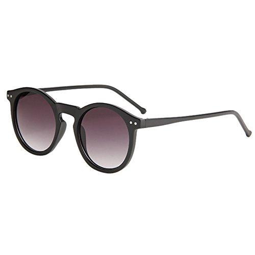 Occhiali da sole polarizzati,wqianghzi vintage protezione uv vogue donna uomo lenti specchio sunglasses unisex classico vista retrò spiaggia eyewear