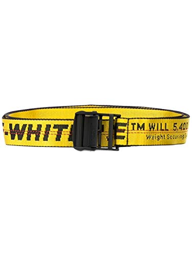 OFF-WHITE Cintura Donna Owrb009e192230986010 Poliestere Giallo