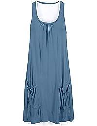 cba52430954fa Amazon.fr   Chemisier Satin - Robes   Femme   Vêtements