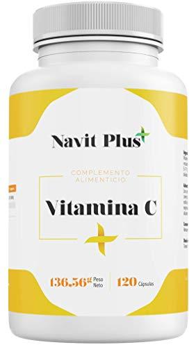 Vitamina C 1000 mg NAVIT PLUS. Suplemento nº1 en Vitamina C pura....