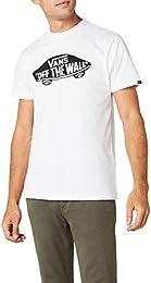 maglietta uomo vans bianca