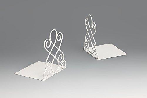 220 Kunst (Kunst Buchstützen 180 x 200 x 220mm (Weiß))