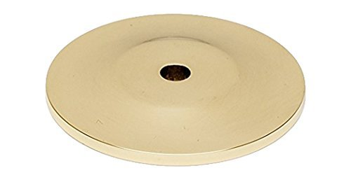 Alno A815-45P-PB Knobs Traditional Backplates, Polished Brass, 1-3/4 by Alno -