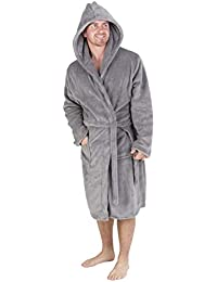 9bffef99b4 CityComfort Luxury Super Soft Men Dressing Gown Mens Bathrobe