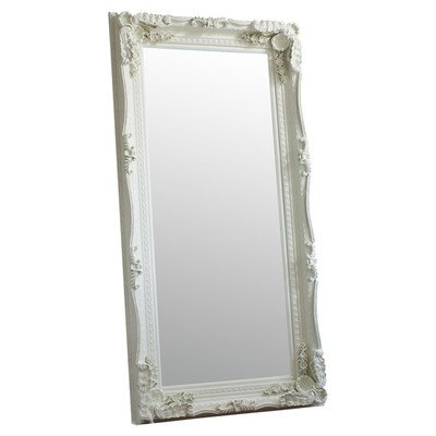 Large Silver Antique Style Wall Mirror New Rectangle 6Ft X 3Ft 180cm X 90cm - inexpensive UK light store.