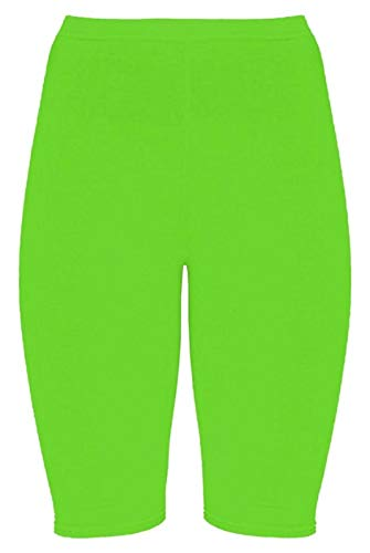 DigitalSpot Damen Sporthose, Skinny, Stretch, Gr. 34-50 Gr. 38/40 DE M/L, neon Green