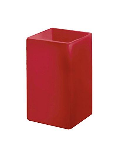 Kleine Wolke 5045467852 Flash Zahnputzbecher, rot