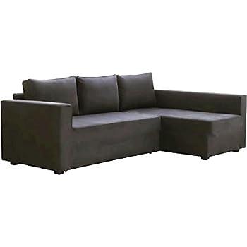 plus récent 05b96 00f0a Le Gris foncé Manstad Housse de remplacement est conçu sur mesure pour Ikea  Manstad Canapé lit, ou, ou Profilé d'angle Slipcover.