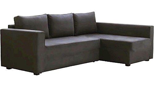 Cubierta / Funda solamente! ¡El sofá no está incluido! La oscuridad gris...