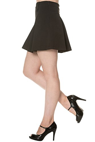 Dancing Days by Banned Mini Rock DAYLIGHT AWAITS SKIRT 2105 Black