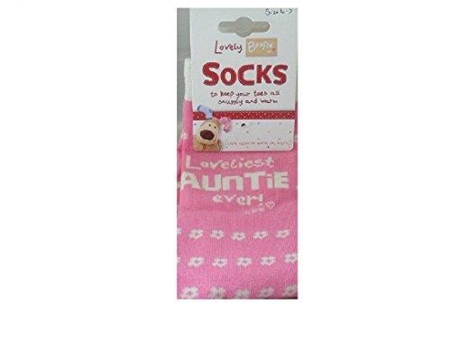 Boofle Socks Loveliest Auntie