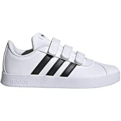 Adidas VL Court 2.0 CMF I, Zapatillas de Gimnasia Unisex bebé