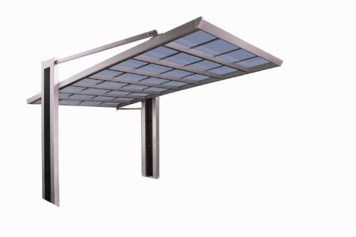 XIMAX Design-Carport My-Port Typ 150 (Edelstahl-Look)